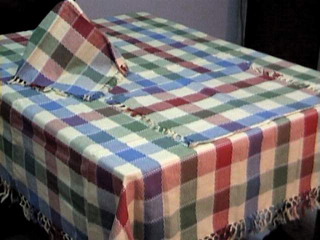 QLTY : Handloom Table Covers Size: 100x100 Cms. And Above